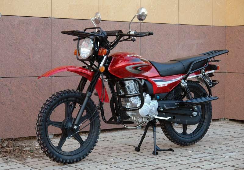 мотоцикл FORESTER TD200-E 200cm3 Цена 100400р.