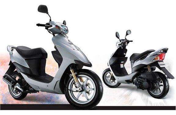 скутер SUZUKI SEPIA 50ZZIII CA1PB