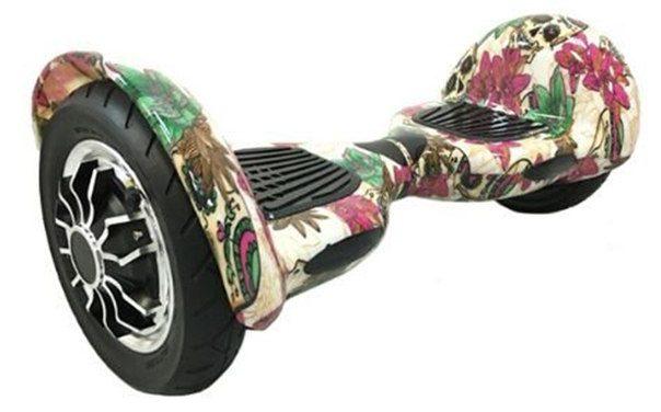Гироскутер Smart Balance Suv 10′ (цветы)