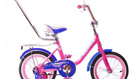 велосипед BA Princess 14″ (с ручкой) Цена 7100р.