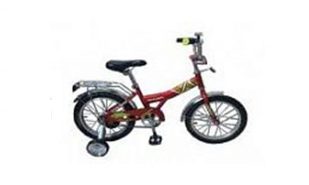 велосипед детский RACER 16-1-10 Цена 4800р.
