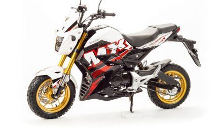 мотоцикл MX 125 Цена 93950р.