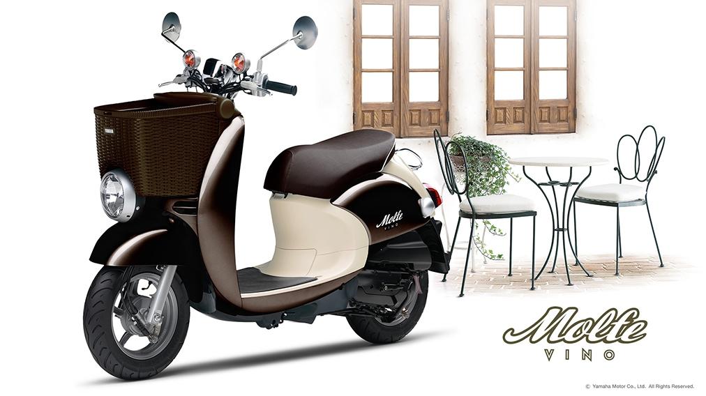 скутер YAMAHA MOLFE SA37J Цена 49450р.