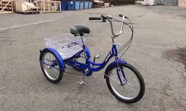 велосипед 20″ 3-х колесный грузовой DELTA TRIKE