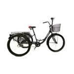 велосипед 24″ 3-х колесный грузовой DELTA TRIKE
