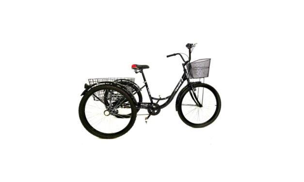 велосипед 24″ 3-х колесный грузовой DELTA TRIKE Цена 16250р.